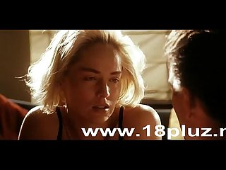 Very hot scenes of sharon stone from silver all scenes