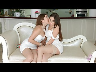 Morning Chill from Sapphic Erotica - Evalina Darling and Diana Dolce touch and l