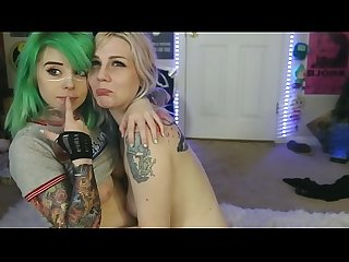 beautiful cosplay hot lesbians kissing on webcam - justgirlskissing.com