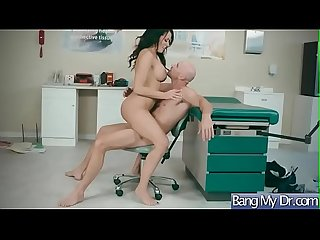 Hardcore Sex Between Horny Doctor And Hot Slut Pacient (Reagan Foxx) video-23