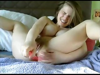 Hard core squirting orgasm