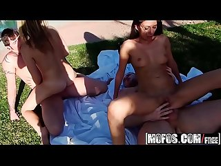 Mofos real slut party kimber Kay taylor dare fuckin hard in the yard