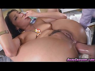 Horny vicki chase needed a huge cock