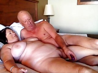 Afternoon sex part 1 grandma cums