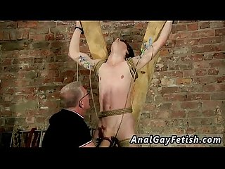 Gay masturbating others Another Sensitive Cock Drained