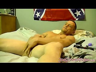 Older dude pounds inked guys tight hole and cums fast