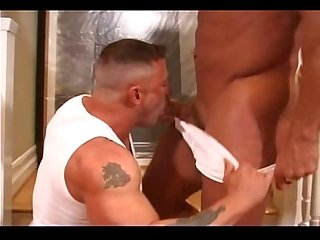 Hot stud fucks the mover