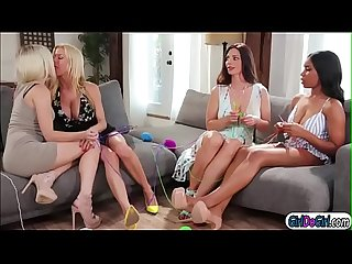 Jenna and alex kissing and licking in foursome with stepmoms