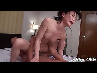 Oriental team fuck with hot anal