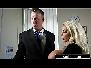 Gorgeous Mistress Nicolette Shea Fucks Her Married Boss