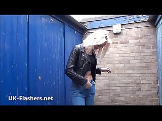 Flashing milf atlantas public masturbation and outdoor exhibitionism of blonde w