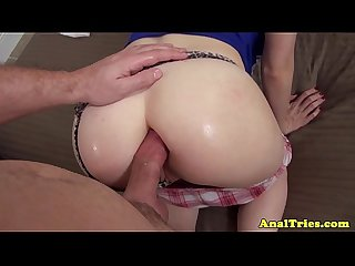 Amateur girlfriend assfucked pov
