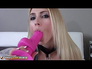 Haley ryder joi and masturbation with dildo