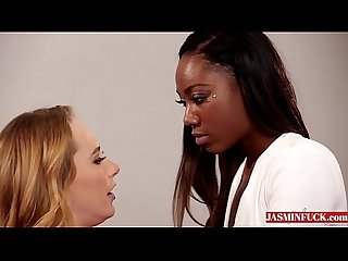 An Unusual Interview - Carter Cruise Chanell Heart-More Videos On Jasminfuck.com