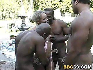 Austin o riley gets enjoys her first gangbang