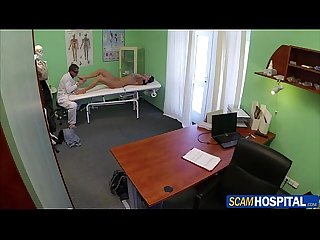Super Sexy victoria was ready for the doctors cock to Fuck her from behind