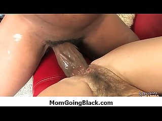 Mommy go black - Interracial MILF Sex 25