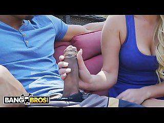 Bangbros a big black dick for tiny blonde teen slut summer day