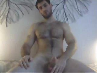 Hot hairy wanker 2