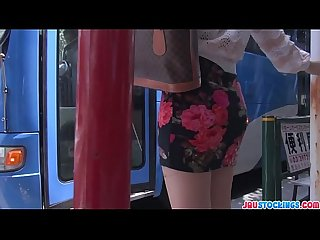 Public japan blow job and creampie with chinatsu kurusu