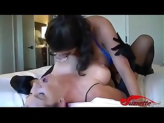 Tit slapping with some dirty talk - suziette.com
