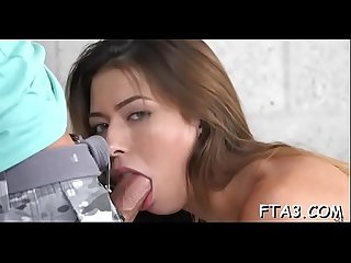 Sexy oral-sex for a meaty schlong