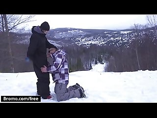 BROMO - Winter XXX Games Part 1 Scene 1 featuring (Bo Sinn, Jack Kross) - Trailer..
