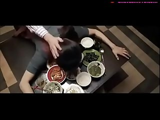 japanese wife fucked on table by husband