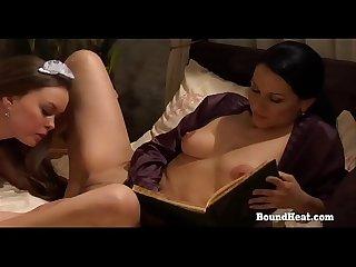 On Consignment 3: Maid Fingering And Licking Mistress