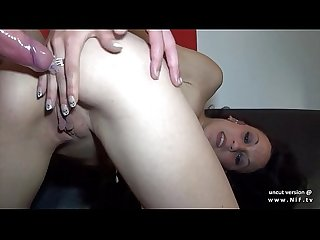 Anal casting couch of A skinny Amateur french Arab beurette getting screwed up