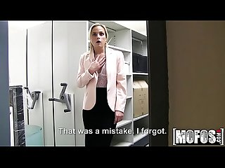 Czech blonde fucks in office video starring cristal caitlin mofos period com