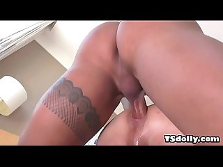 TS Isabelly Ferreira and her big cocked lover