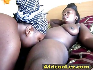 Black lesbians binah kehinde fuck after taking a shower alta
