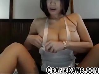Fat tit asian maid flashes me crankcams com