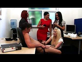 Cfnm bj whores blindfold victim