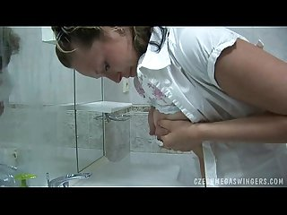 Squirt and milk at czech swingers party