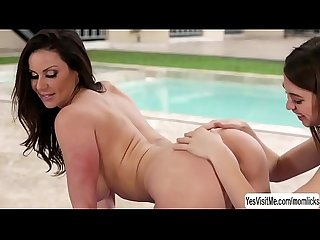 Skinny yoga instructor riley reid and Milf kendra lust Lesbian fucked outdoor