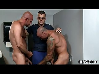 Mature Gays Visits a Gloryhole