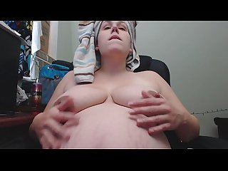 Milky titties during pregnancy