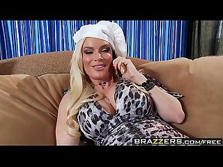 Brazzers - Milfs Like it Big - Serving Up Greek scene starring Diamond Foxxx and Jordan Ash