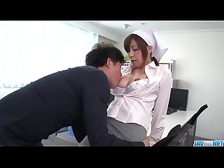 Milf chihiro akino tries heavy penis in her tight pussy more at javhd period net