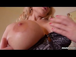 Milfs cathy heaven kayla green get banged balls deep in office threesome