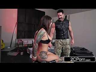 Biker babes anna bell peaks felicity feline fucked by rival gang