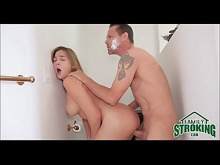 Fucking Step Daughter In Bathroom While Mom Showers