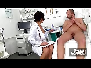 Mature nurse milf maya hot stockings