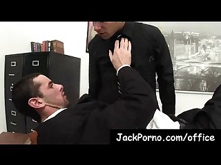Office cock gay guys fucked in the office clip 7