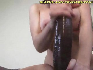 Interracial Pussy To Mouth Cougar