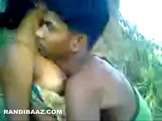 Village maid fucked in Forest