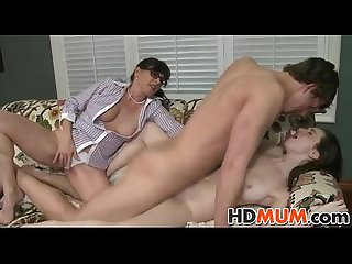 Learn how to fuck mom and gf