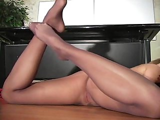 Monica sweet in black pantyhose part ii